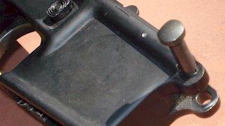 Convert Colt to detent style pivot pin